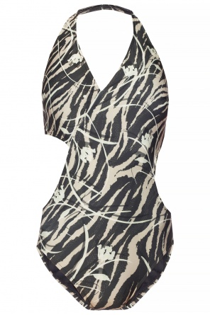 'aurie' printed swimsuit od AllSaints