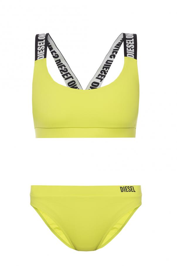 18c6c8438221e Two-piece swimsuit with logo Diesel - Vitkac shop online