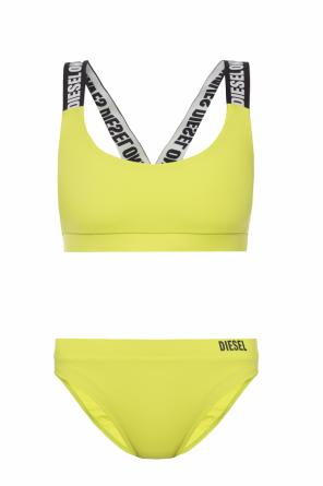 Two-piece swimsuit with logo od Diesel