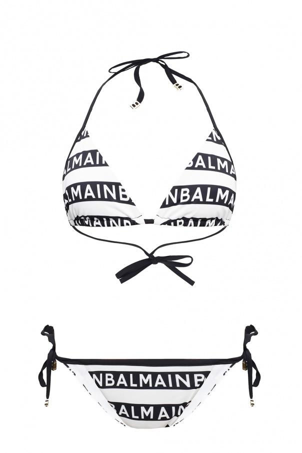 Balmain Two-piece swimsuit with logo