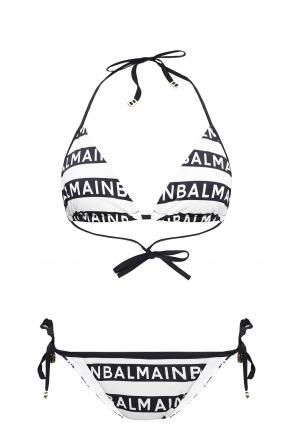 Logo两件式泳衣 od Balmain