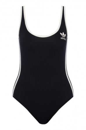 Logo-embroidered swimsuit od Adidas