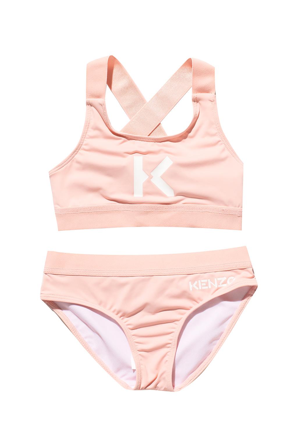 Kenzo Kids Two-piece swimsuit with logo