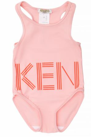 843394278c887 ... One-piece swimsuit with logo od Kenzo Kids