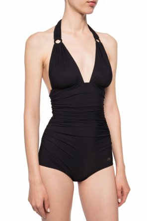 Ruched one-piece swimsuit od Dolce & Gabbana