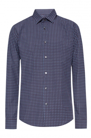 Logo-patterned shirt od Salvatore Ferragamo
