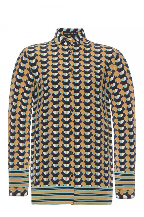 Etro Geometrical-printed shirt