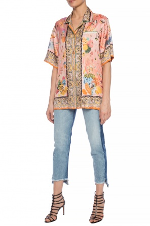 Printed silk shirt od Etro