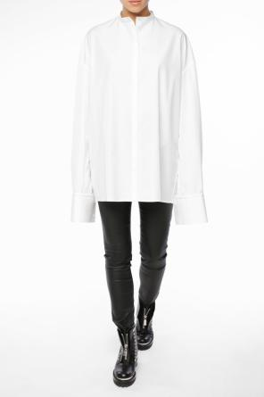 Oversize shirt with collar band od Haider Ackermann