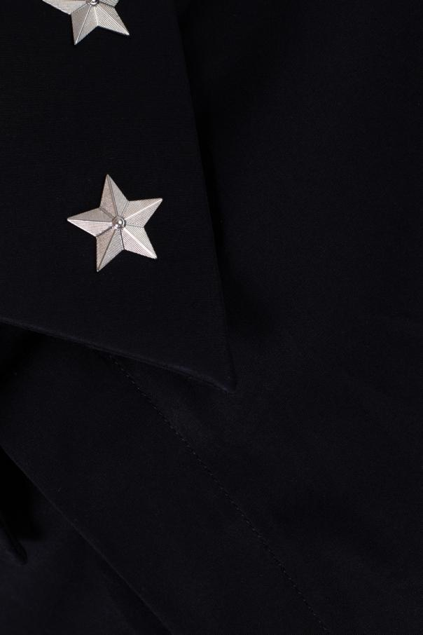 Shirt with metal stars od Givenchy