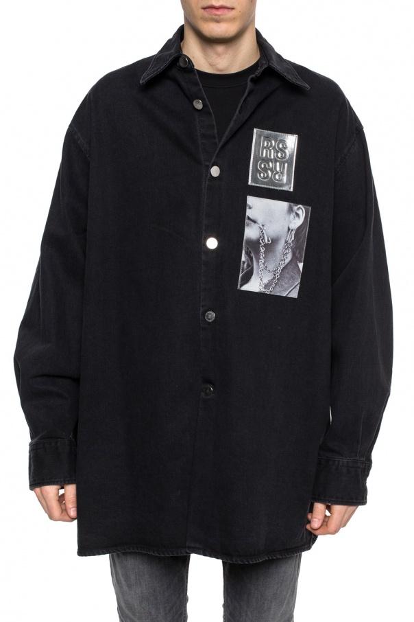 1170ad72ad0 Long oversize denim shirt Raf Simons - Vitkac shop online