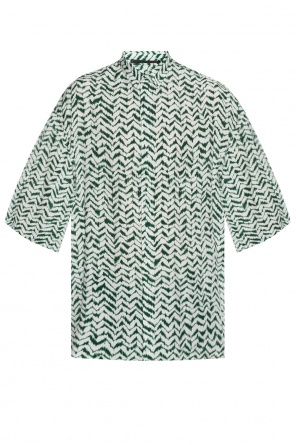 Shirt with a printed pattern od Haider Ackermann