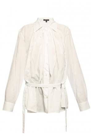 Top with tie fastening od Ann Demeulemeester