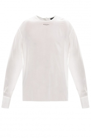 Shirt with raw trim od Ann Demeulemeester