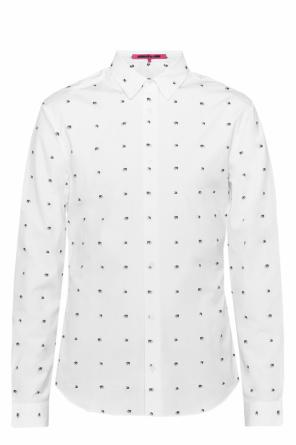 Shirt with swallows od McQ Alexander McQueen