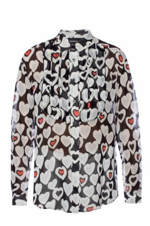 Shirt with hearts od Emporio Armani