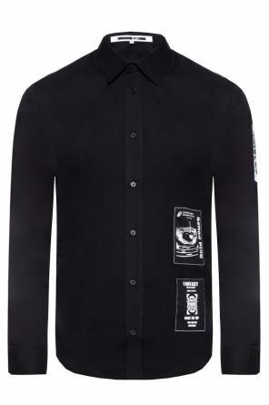 Shirt with application od McQ Alexander McQueen