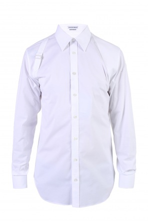 Decorative insert shirt od Alexander McQueen