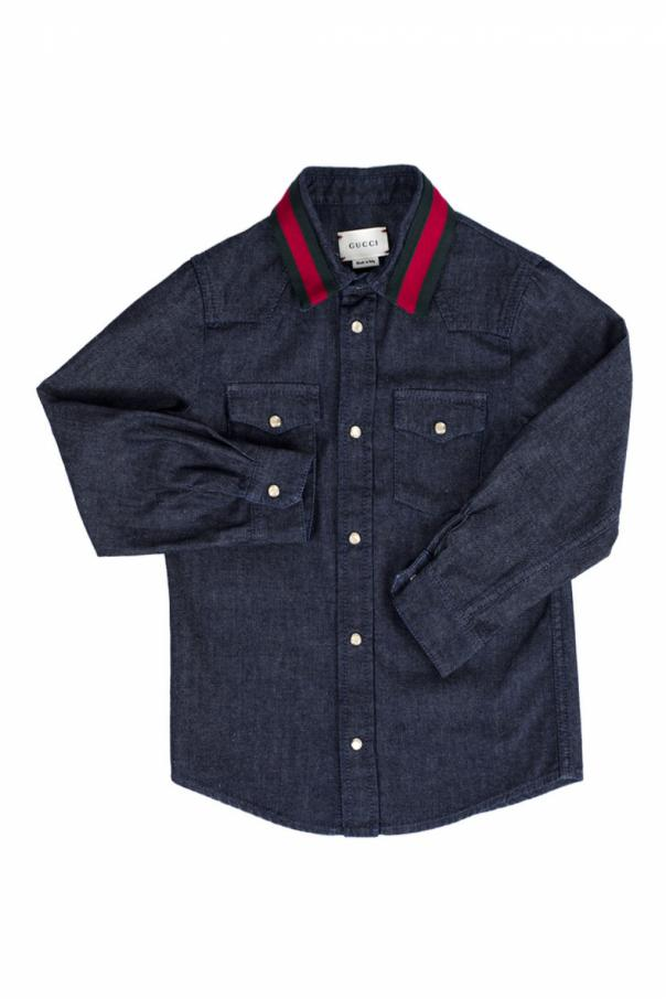 Gucci Kids Denim shirt
