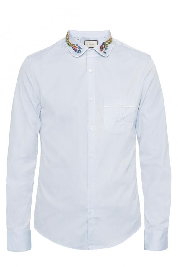 c7fd0923ab9 Embroidered shirt Gucci - Vitkac shop online