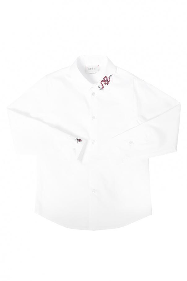 83a2bad0414 Appliqued shirt Gucci Kids - Vitkac shop online