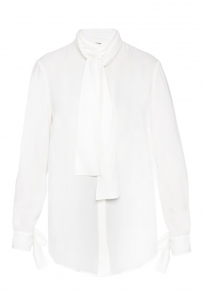 Shirt with lacing detail od Alexander McQueen