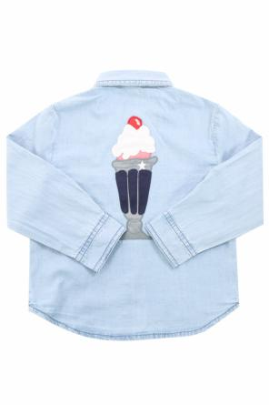Patched shirt od Stella McCartney Kids