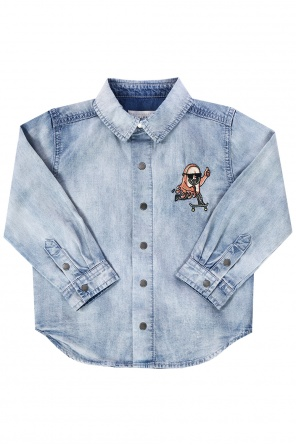 Denim shirt od Stella McCartney Kids