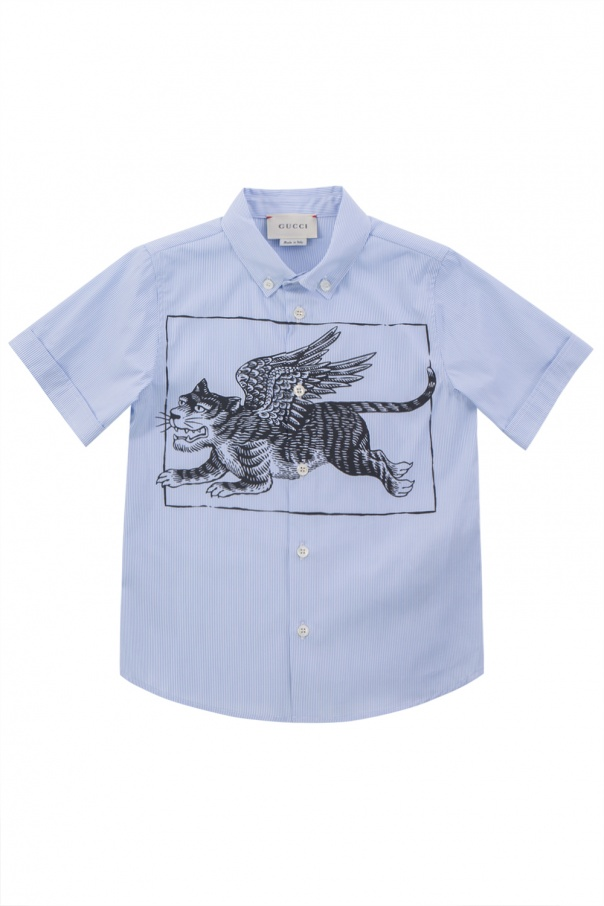 6241f289 Striped shirt Gucci Kids - Vitkac shop online