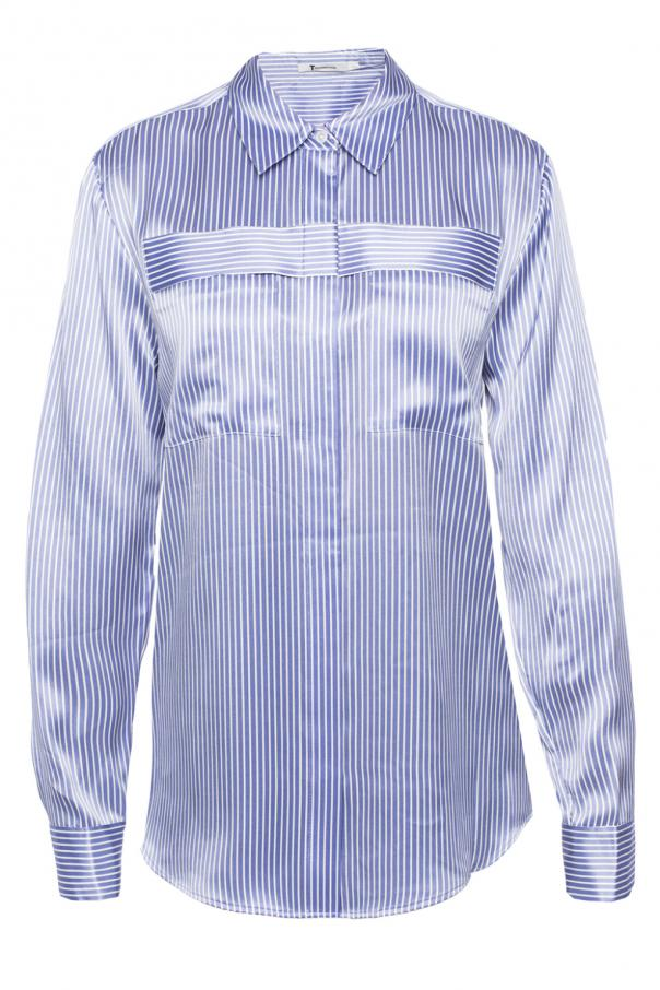 Pinstriped shirt od T by Alexander Wang