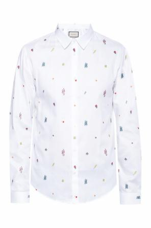Printed shirt od Gucci