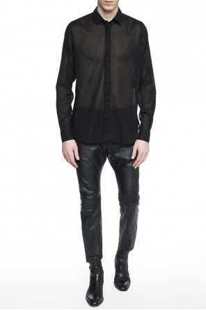Sheer shirt od Saint Laurent