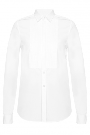 Shirt with pleated insert od Saint Laurent