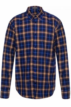 Checked shirt od Balenciaga