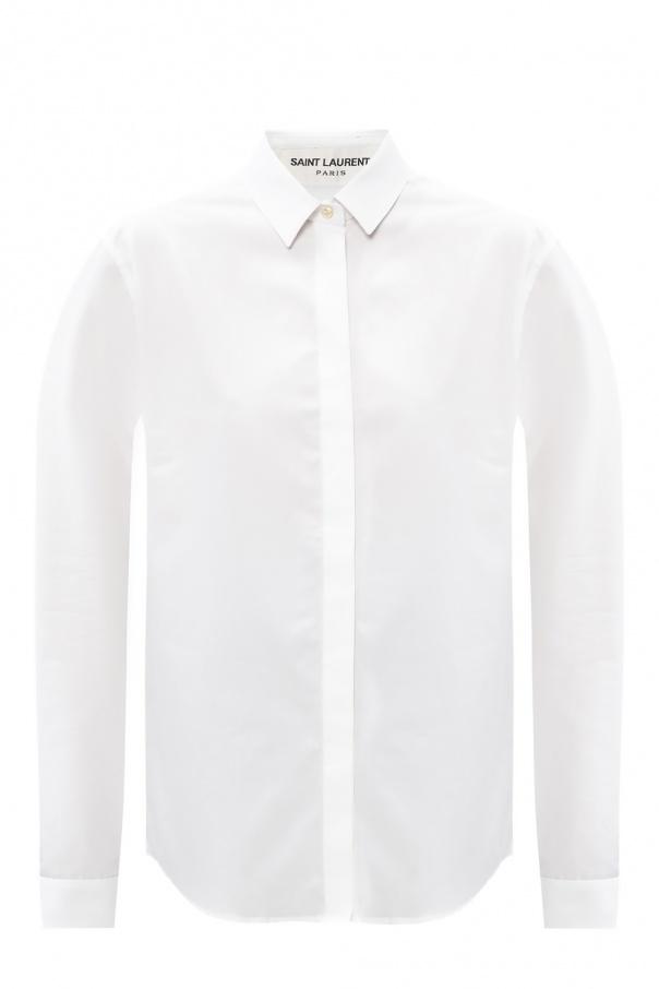 Saint Laurent Bawełniana koszula