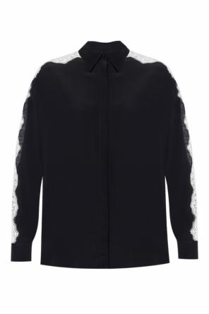 Shirt with openwork inserts od Stella McCartney