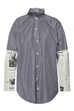 Newspaper shirt od Balenciaga