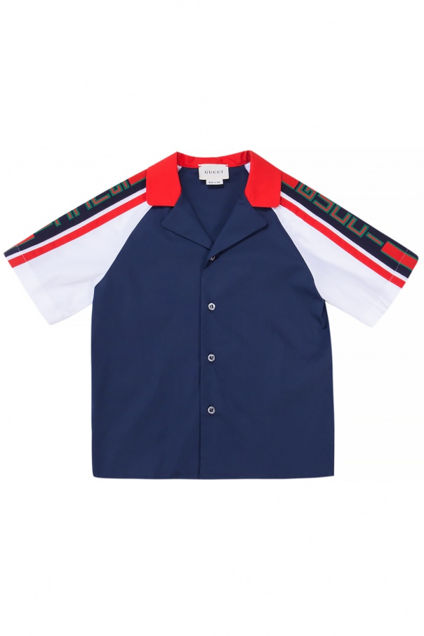 Gucci Kids Shirt with embroidered logo