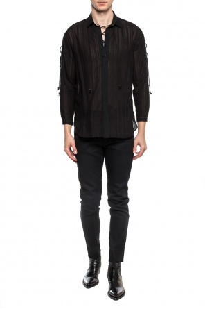 Drawstring shirt od Saint Laurent