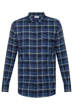 Patterned shirt od Saint Laurent