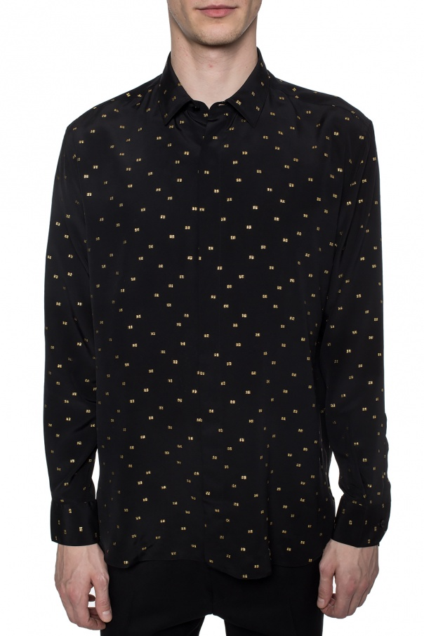Silk shirt od Saint Laurent