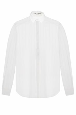 Striped transparent shirt od Saint Laurent