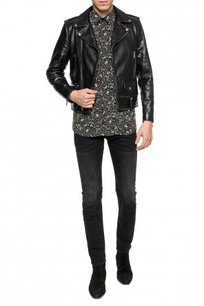 Skull motif shirt od Saint Laurent