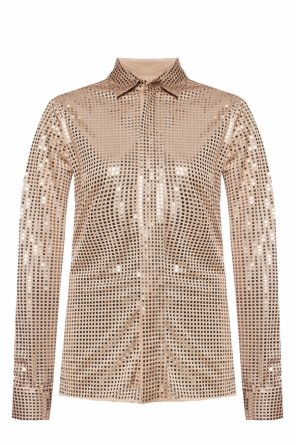 Embellished shirt od Bottega Veneta