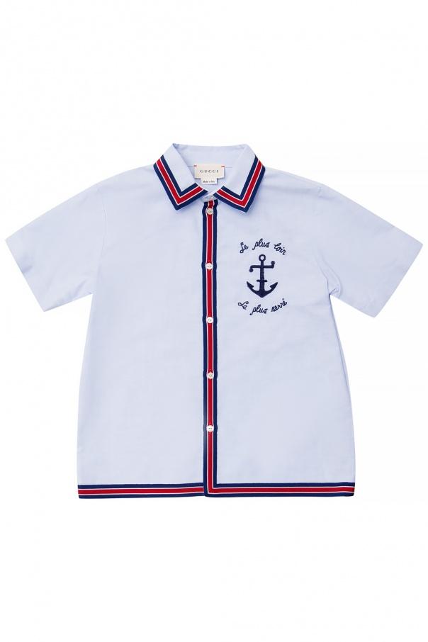 Gucci Kids Short-sleeved shirt