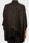Balenciaga Silk shirt with logo