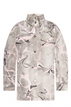 Printed denim jacket od Stella McCartney