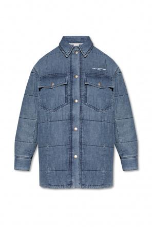 Denim jacket with logo od Stella McCartney