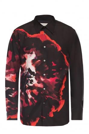 Patterned shirt od Alexander McQueen