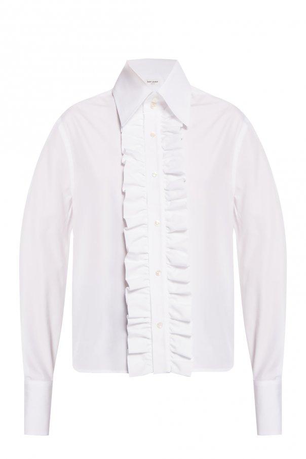 Saint Laurent Ruffled shirt